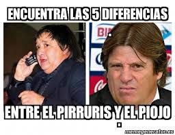 Memes Del Pirruris - meme personalizado encuentra las 5 diferencias entre el pirruris