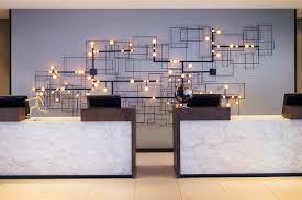Z2 Reception Desk Z2 Reception Desk With Integrated Light Half Moon Table Light By