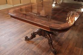 furniture vintage country walnut round extending dining table