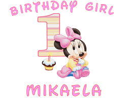 minnie mouse 1st birthday minnie mouse birthday shirt