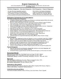 Whats A Good Job Objective For Resumes by Sample Resume For General Manager Sample Military Civilian Sample