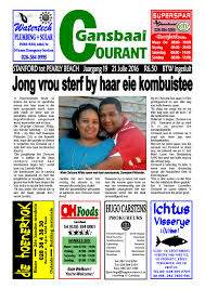 julie 21 2016 new courant by gansbaai courant issuu