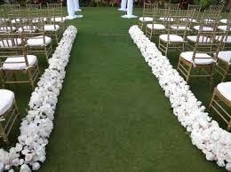petal aisle runner outdoor wedding brides weddings stuff wedding forums