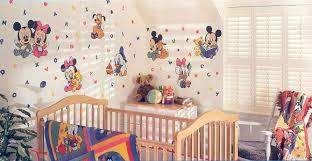 baby nursery decor mickey minnie mouse donald duck disney baby