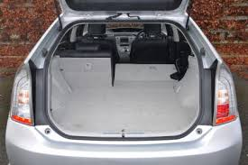 toyota prius luggage capacity toyota prius in auto express
