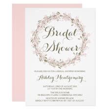 wedding shower invitation winter bridal shower invitations announcements zazzle