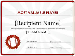 download sports award certificate for free formtemplate