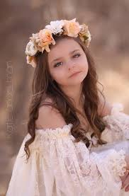 flower girl headbands marianne style floral crown floral halo floral wreath