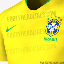 What Colour Is Brazil Flag Exclusive Brazil 2018 World Cup Kit Leaked Footy Headlines