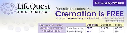 free cremation free cremation when you donate a to science