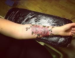 from the tattoologist u2013 rose tattoo u0027ed arms