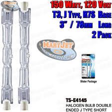 replacement halogen light bulbs lamps various volt watt size