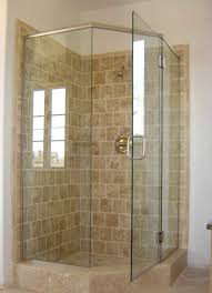 Small Bathroom Shower Ideas Bathroom Shower Ideas For Small Bathrooms Glass Panel And Brown