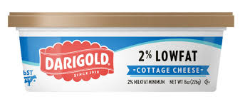 How Much Fiber In Cottage Cheese by Cottage Cheese 2 Low Fat 8oz Darigold