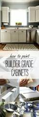 How To Paint Old Kitchen Cabinets How To Paint Builder Grade Cabinets
