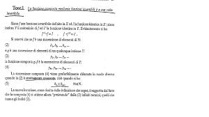 dispense analisi 1 teoremi senza dimostrazione analisi 1 docsity
