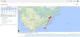 Florida Map Google by Scary Click Here To View Your Google Location History