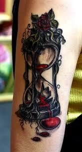 hourglass tattoo by artofasthar on deviantart