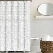 Greek Key Pattern Curtains Geometric Shower Curtains You U0027ll Love Wayfair