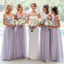 discount cheap bridesmaid dress lilac color 2017 cheap