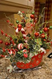 flower arrangement pictures with theme 52 best christmas sleigh images on pinterest christmas