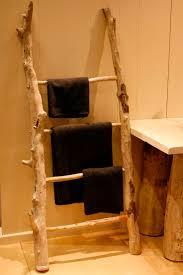 Best 25 Ladder Towel Racks Ideas On Pinterest Rustic Bathrooms