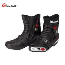 black moto boots short online get cheap motorcycle riding shoes women aliexpress com