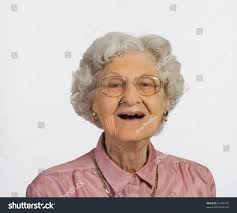 royalty free old woman with glasses and gray hair u2026 61458193 stock