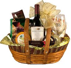 gift baskets with wine baskets for relationship building march 2011