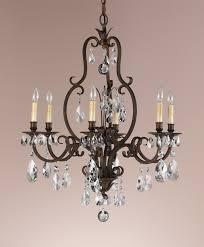 Murray Fiess Lighting Feiss F2228 6ats Crystal Salon Maison Six Light Chandelier