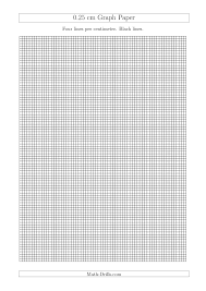 0 25 cm graph paper with black lines a4 size a