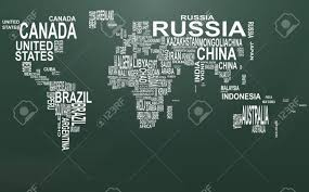 world map image with country names hd illustration of world map with country name on chalkboard royalty