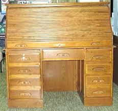 Computer Desk Oak Roll Top Computer Desk Presidents Style Roll Top Desk Oak Express