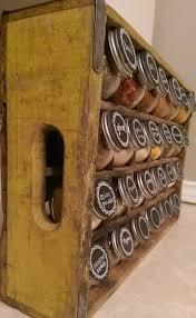 Vintage Wooden Spice Rack 25 Best Vintage Storage Ideas Interiorsherpa