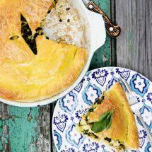 recette cuisine du jour ma recette du jour tourte épinards ricotta sur recettes