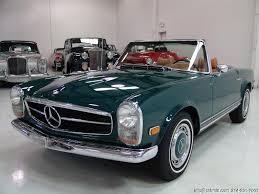 mercedes 280sl 1969 mercedes 280sl convertible daniel company