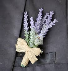 mens boutonniere 5pcs made groom boutonniere artificial lavender flower