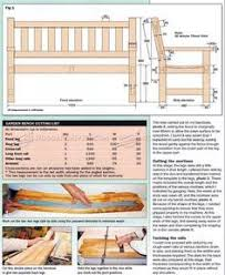 Outdoor Woodworking Projects Plans Tips Techniques by The Garden Bench Assembly Plans Wood Working Plans Pinterest