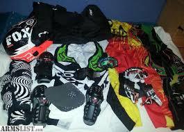 used motocross gear for sale armslist for sale fox motocross gear