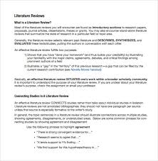 literature review outline template apa how to select topics for a