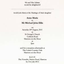 traditional wedding invitation wording marialonghi com