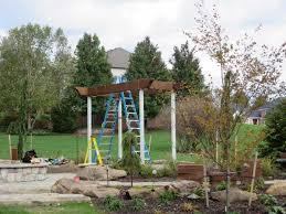 swing pergola assembly u0026 installation of a garden diy arbor kit swing western