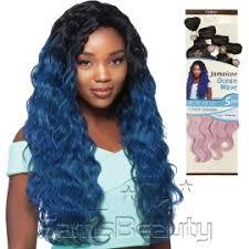 hairstyles with ocean wave batik hair outre synthetic hair weave batik duo jamaican ocean wave 5pcs