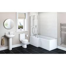 shower bath suites bath shower suites victoriaplum com eden bathroom suite with left handed l shaped shower bath 1700 x 850