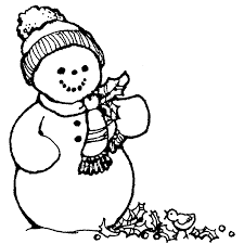 100 ideas free coloring pages snowman emergingartspdx