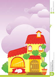 Cute House by Cartoon House Royalty Free Stock Images Image 31541399