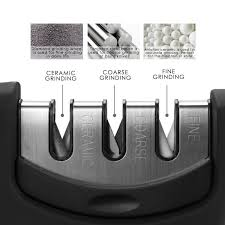 sharpening kitchen knives with a knife sharpener by luxebell for sharpening kitchen knives 3