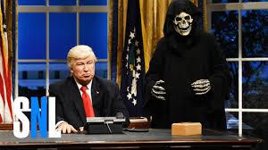 video saturday night live alec baldwin as trump calling world