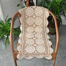 crochet flower table runner online crochet flower table runner