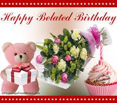 happy belated birthday greeting